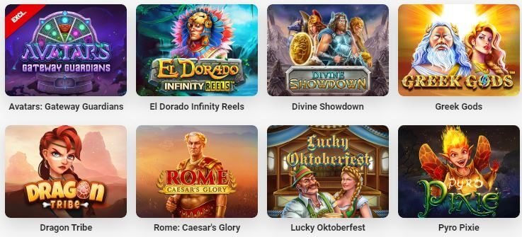 Try out the newest online casino games at LeoVegas!