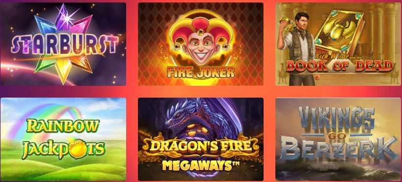 More than 1,000 slots to play at Casino Gods Canada!
