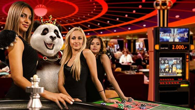 Live Casino and Dealers at Royal Panda