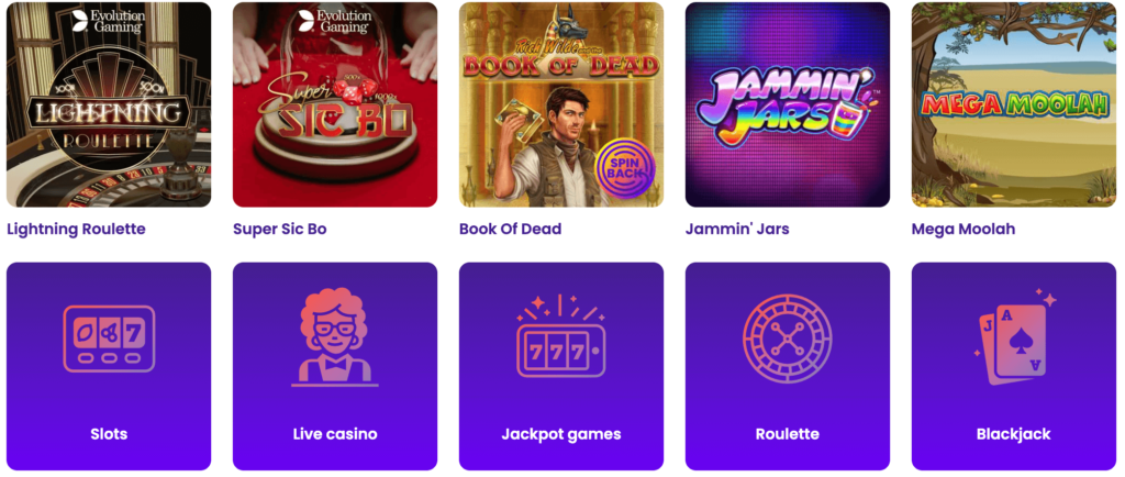 Best Casino Games available at Wildz Casino