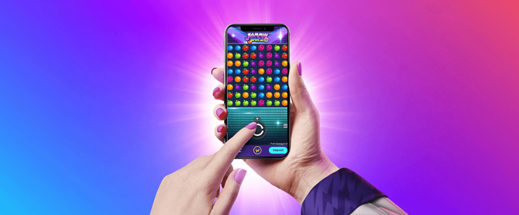 Play slots on mobile casino at Wildz.com